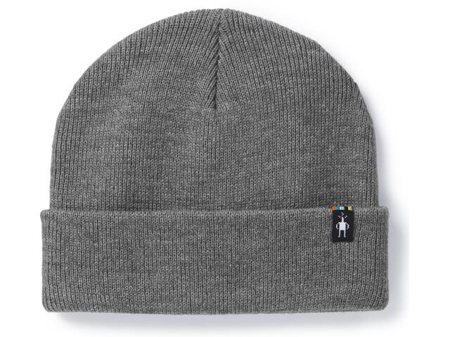Smartwool Cozy Cabin Hat Light Gray Heather-Medium Gray Heather